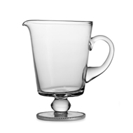 Arte Italica Home Eleganza Footed Beaded Pitcher