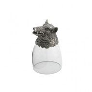Arte Italica Home Animale Boar Liqueur Glass
