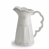 Arte Italica Merletto Antique Scalloped Pitcher