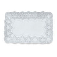 Arte Italica Merletto White RectangularTray