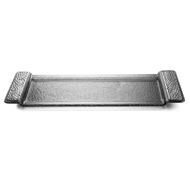 Arte Italica Home Notturno Long Rectangular Tray