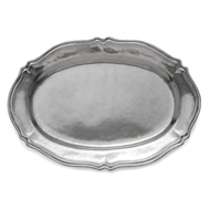 Arte Italica Peltro Scalloped Tray