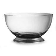 Arte Italica Tavola Glass Salad Bowl