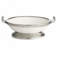 Arte Italica Tuscan Large Footed Bowl with Handles