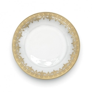 Arte Italica Vetro Gold Salad/Dessert Plate Set of 4