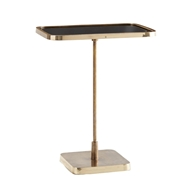 Arteriors Home Kaela Rectangle Accent Table 4386 Brass
