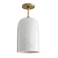 Arteriors Lighting Jed Pendant 47435 Porcelain