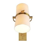 Arteriors Lighting Juniper Sconce Antique Brass 49123 Steel