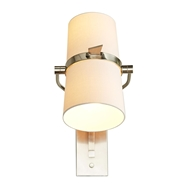 Arteriors Lighting Juniper Sconce Vintage Silver 49156 Steel