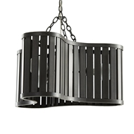 Arteriors Lighting Kay Pendant 42226 Iron