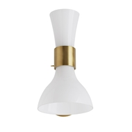 Arteriors Lighting Khloe Sconce 49128 Steel