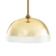 Arteriors Lighting Leo Pendant Antique Brass 42229 Brass