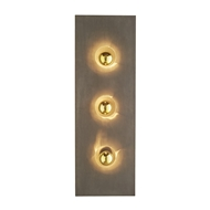 Arteriors Lighting Logan Rectangular Sconce 42223 Iron