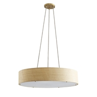 Arteriors Lighting Marsha Medium Chandelier 89441 Linen