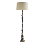 Arteriors Lighting Miller Floor Lamp 72404-230 Antique Brass / Natural