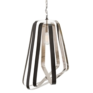 Arteriors Lighting Adele Pendant With English Bronze Finish In Black