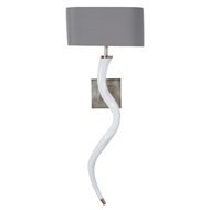 Arteriors Lighting Adonia Wall Sconce With Vintage Silver Finish In Gray DS49008