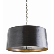 Arteriors Lighting Anderson Pendant With English Bronze Finish In Black