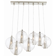Arteriors Lighting Caviar Fixed Staggered Pendant DK89904
