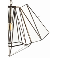 Arteriors Lighting Edmond Pendant With Clear Finish In Clear