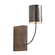 Arteriors Lighting Flynn Sconce With Aged Iron Finish In Gray 49985