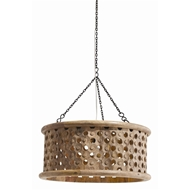 Arteriors Lighting Jarrod Small Pendant With Natural Finish In Neutral