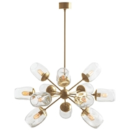 Arteriors Lighting Ramirez Chandelier 89962 - Steel