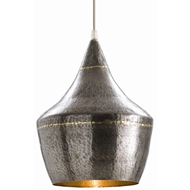 Arteriors Lighting Mason Small Pendant With Dark Natural Iron Finish In Gray