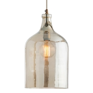 Arteriors Lighting Noreen Pendant With Smoke Luster Finish In Brown