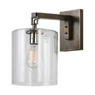 Arteriors Lighting Parrish Sconce With Bronze Finish In Black 49953
