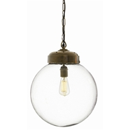 Arteriors Lighting Reeves Large Pendant With Clear Finish In Clear