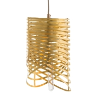 Arteriors Lighting Romy Pendant With Matte Brass Finish In Yellow
