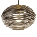 Arteriors Lighting Rook Large Pendant Wood 45100