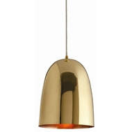 Arteriors Lighting Savoy Large Pendant With Polished Brass Finish In Yellow