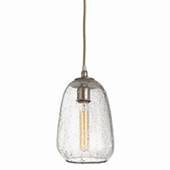 Arteriors Lighting Shelton Globular Pendant With Clear Finish In Clear