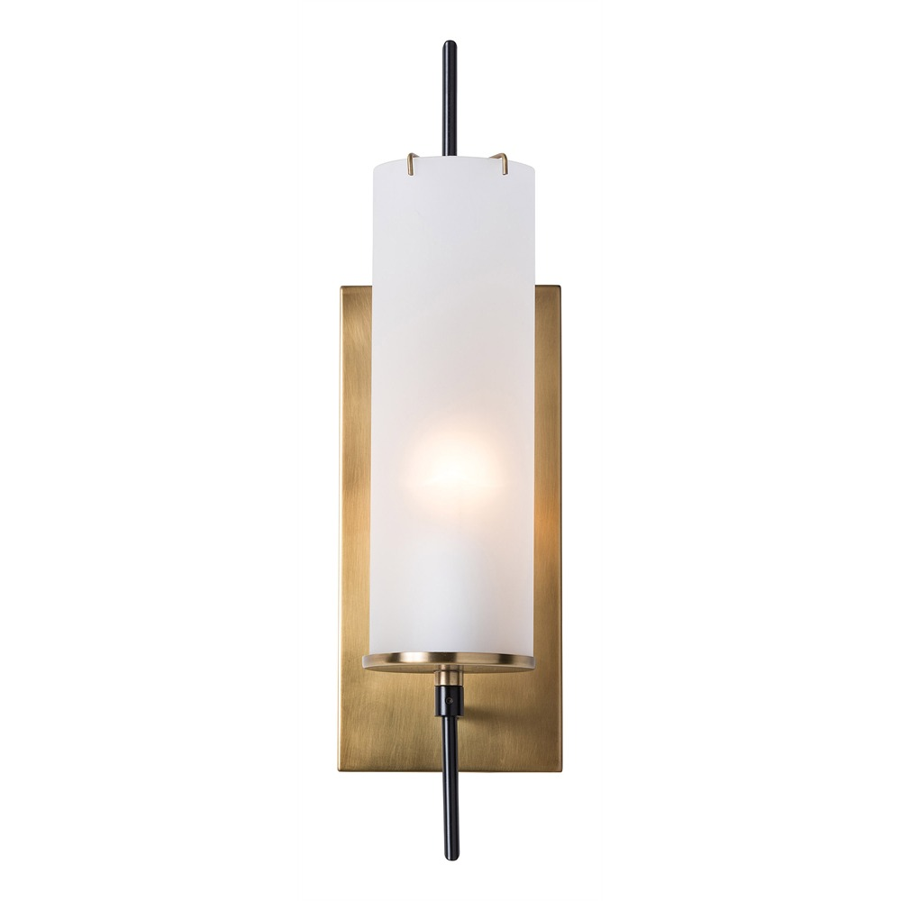 lighting on wall. Arteriors Lighting Stefan Wall Sconce With Frosted Finish In White 49999 On L