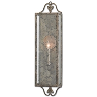 Currey & Company Lighting Wolverton Wall Sconce 5000-0018 Wrought Iron