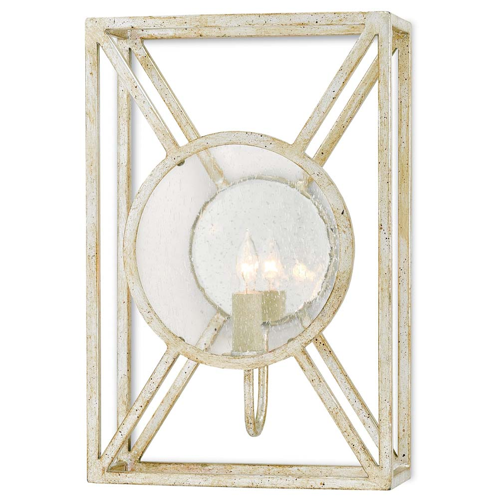 Currey & Company Lighting Beckmore Wall Sconce 5000-0023 Wrought Iron