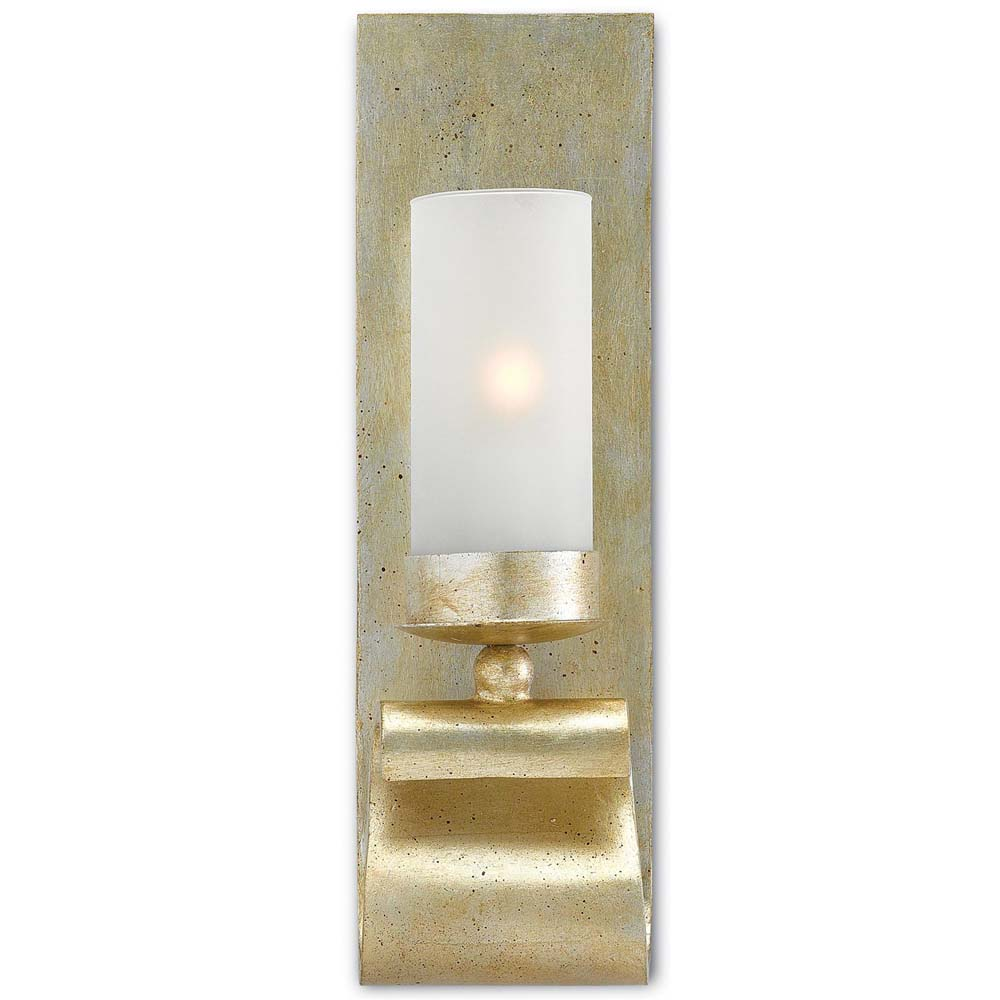 Currey & Company Lighting Avalon Wall Sconce 5000-0032 Wrought Iron
