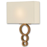 Currey & Company Lighting Pembroke Wall Sconce 5900-0007 Wrought Iron