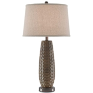 Currey & Company Lighting Moses Table Lamp 6000-0095 Ceramic
