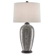 Currey & Company Lighting Cara Table Lamp 6000-0129 Terracotta