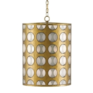 Currey & Company Lighting Go-Go Pendant 9000-0111 Wrought Iron