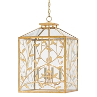 Currey & Company Lighting Frogmore Lantern 9000-0144 Wrought Iron
