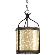 Currey & Company Lighting Zaire Lantern 9000-0158 Wrought Iron