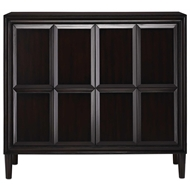 Currey & Company Home Counterpoint Cabinet, Small 3000-0081 - Mahogany Solids and Veneers
