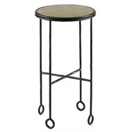 Currey & Company Home Jorin Accent Table 4000-0035 - Iron/Aluminum