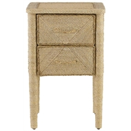 Currey & Company Home Kaipo Nightstand
