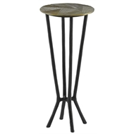 Currey & Company Home Thatcher Drinks Table 4000-0034 - Iron/Aluminum