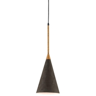 Currey & Company Lighting Baird Pendant 9000-0292 - Wrought Iron